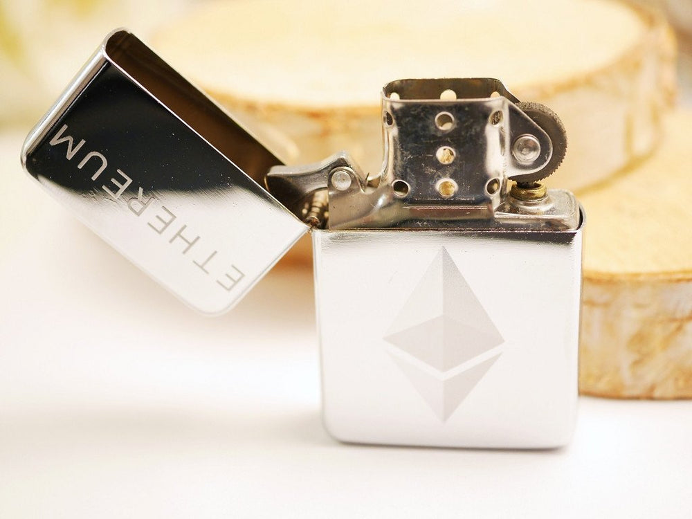 Personalized Ethereum Storm Lighter