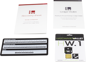Ledger HW.1 - Hardware Wallet  Bitcoin Store - 2