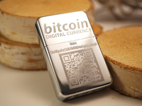 Personalized Bitcoin Storm Lighter
