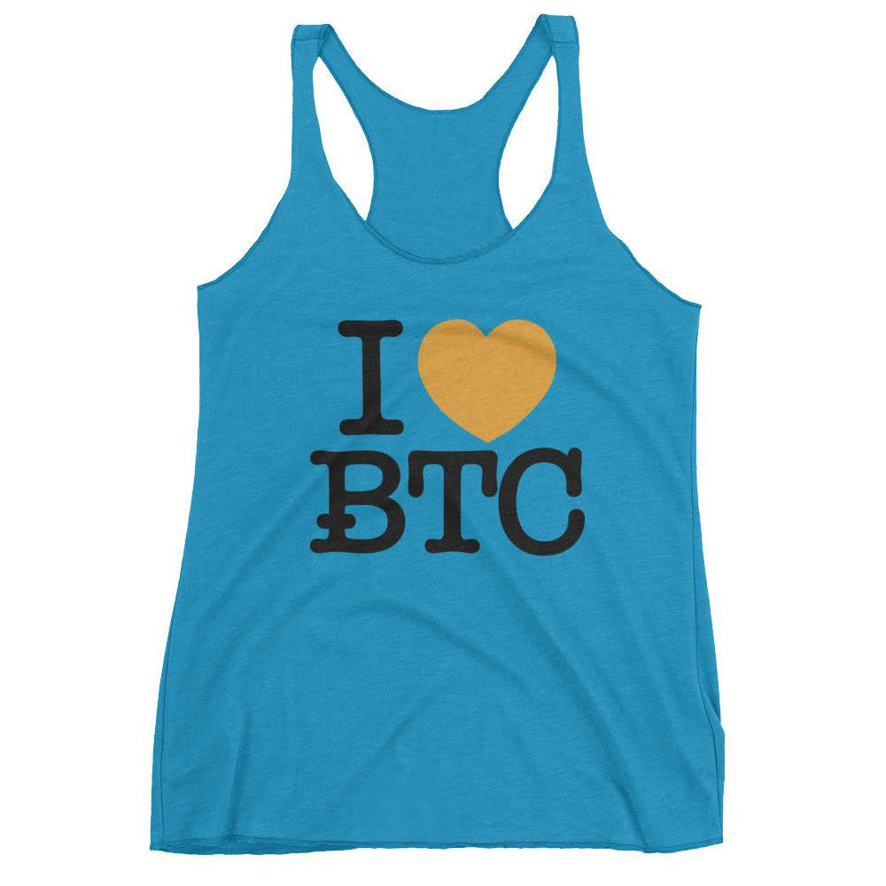 I Heart Bitcoin Tank Top (Ladies)