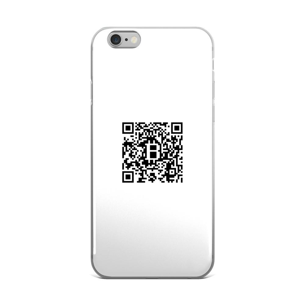 Personalized QR Code iPhone/Samsung Case - Phone Case  Bitcoin Store