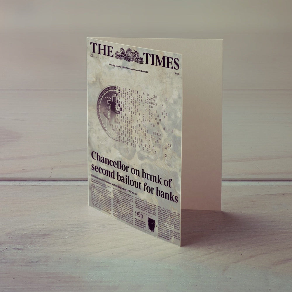 The Times Greeting Card