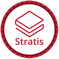 Stratis Red Poker Chip