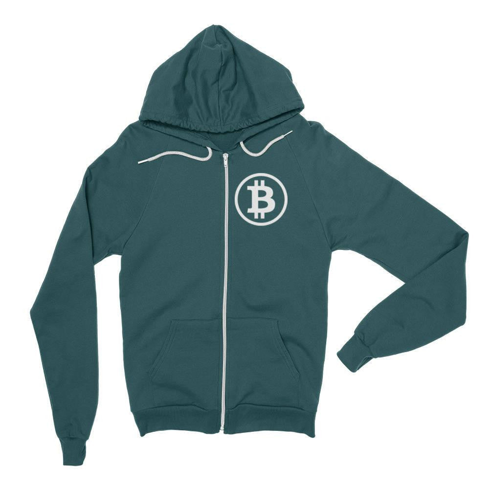 Symbol Hoodie - Hoodie Forest / X-Small Bitcoin Store - 1