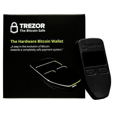 Trezor - Hardware Wallet Black Bitcoin Store - 3