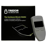 Trezor - Hardware Wallet Grey Bitcoin Store - 2
