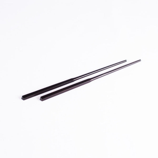 Classic Chinese Wood Chopsticks, Black Sandalwood, Set of 5 Pairs