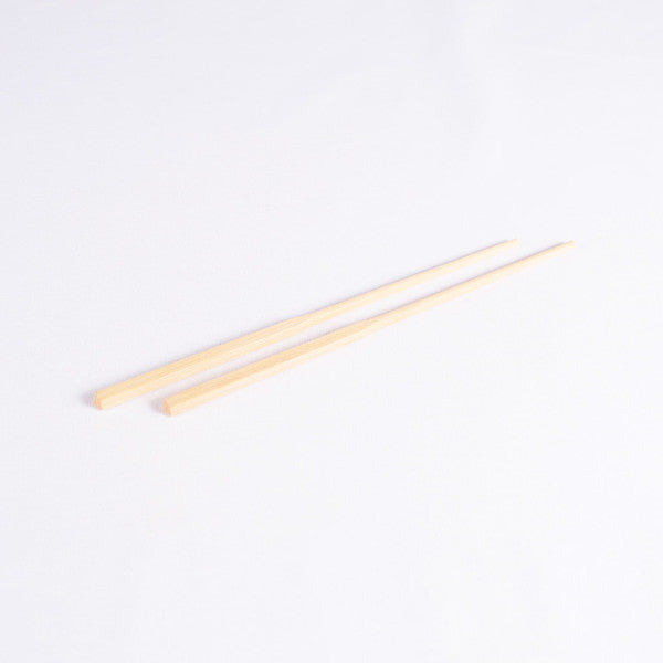 Classic Chinese Wood Chopsticks, Yellow Sandalwood, Set of 5 Pairs