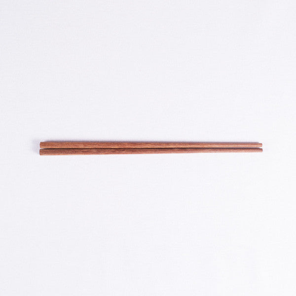Contemporary Chinese Wood Chopsticks, Red Sandalwood, Set of 5 Pairs
