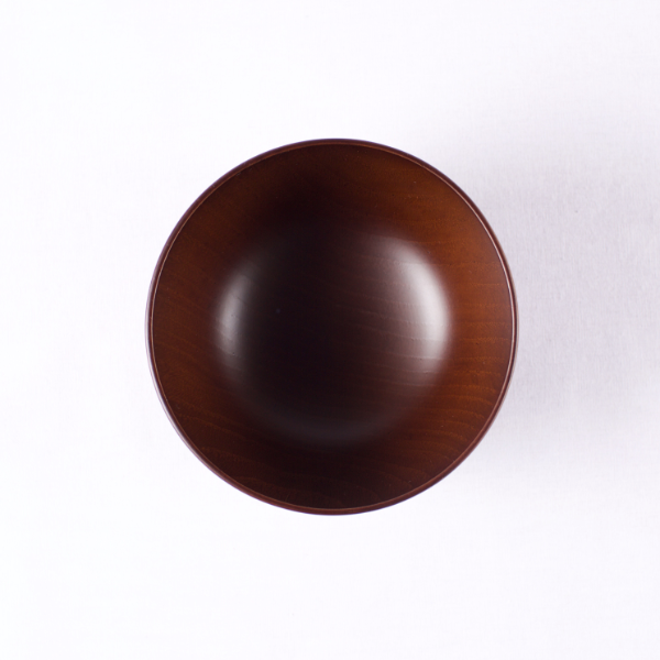 Small Wooden Bowl, Dark