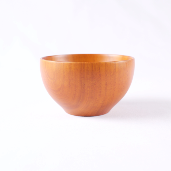 Small Wooden Bowl, Natural