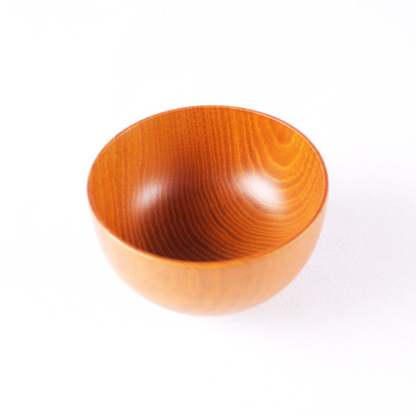 Medium Wooden Bowl, Natural