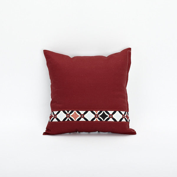 "18"" Chinese Pattern Pillow Cover, Snooze"