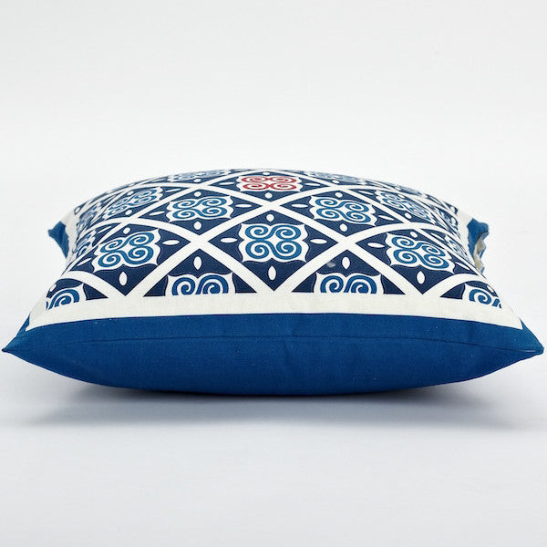 "18"" Chinese Pattern Pillow Cover, Notes"