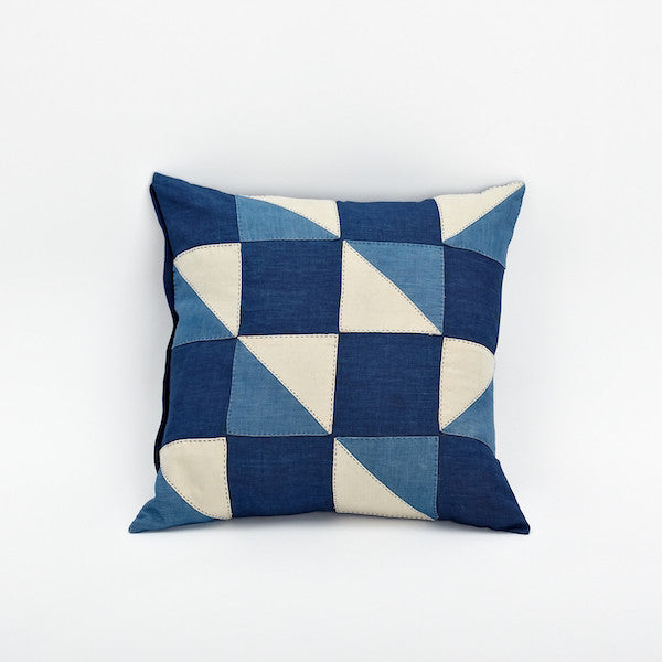 "20"" Patchwork Pillow Cover, Confession"