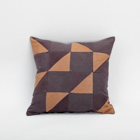 "20"" Patchwork Pillow Cover, Sweet Wine"