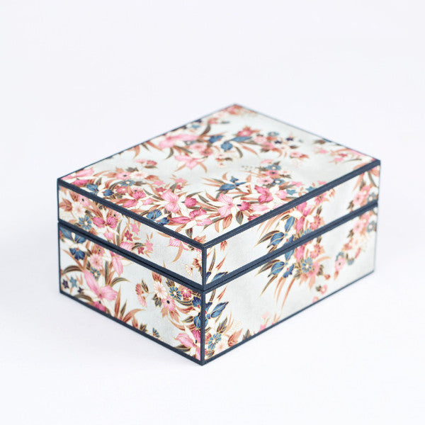 Japanese Jewelry Box, Orchid Garden