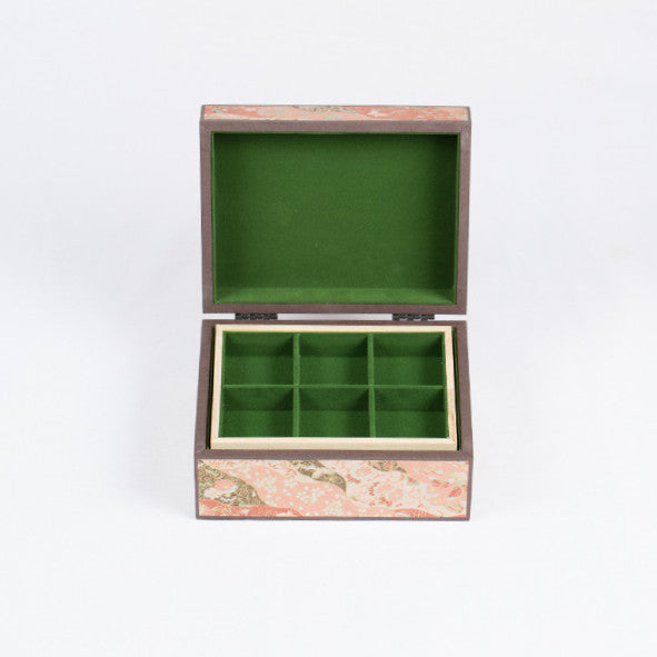 Japanese Jewelry Box, Gold Ribbon