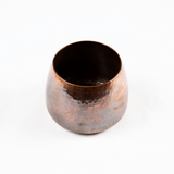 Hammered Solid Copper Tea Wash