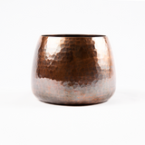 Hammered Copper Tea Wash