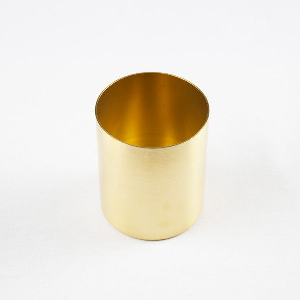 The Organizer Solid Brass Pen Holder