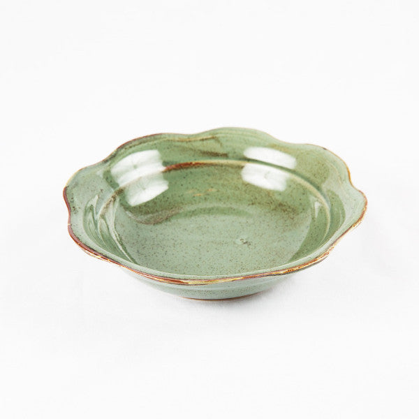 Jade Green Lotus Bowl