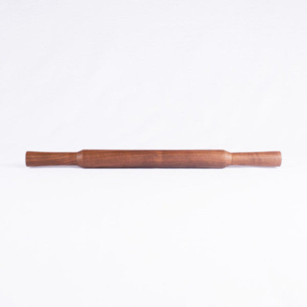 Asian Cooking Walnut Rolling Pin, Flat End