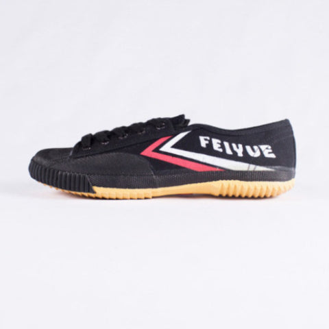 Feiyue Fe Lo Classic Low Top Unisex Sneakers, Black