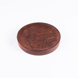 Small Round Walnut Plate