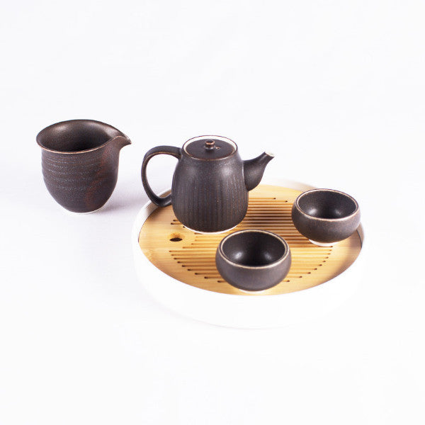Porcelain Tea Set, Duo
