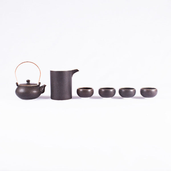 Porcelain Tea Set, Quadruplet