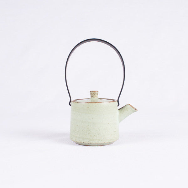 Pottery Tea Set, Milky Green I