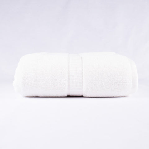 Bamboo Bath Sheet, White