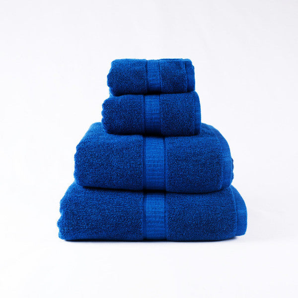 Gentle Natural Bamboo Cotton Hand Towel, Indigo