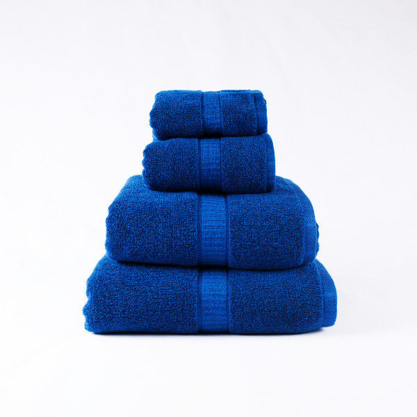 Gentle Natural Bamboo Cotton Washcloth, Indigo