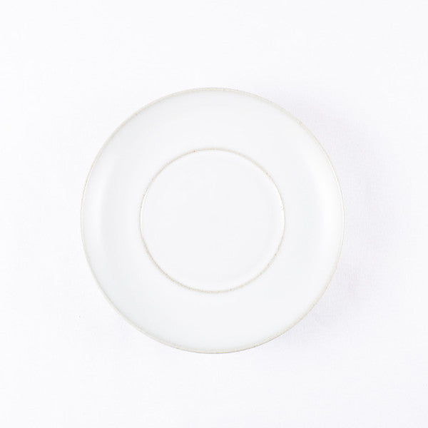 White Moon Clay Dinner Plate