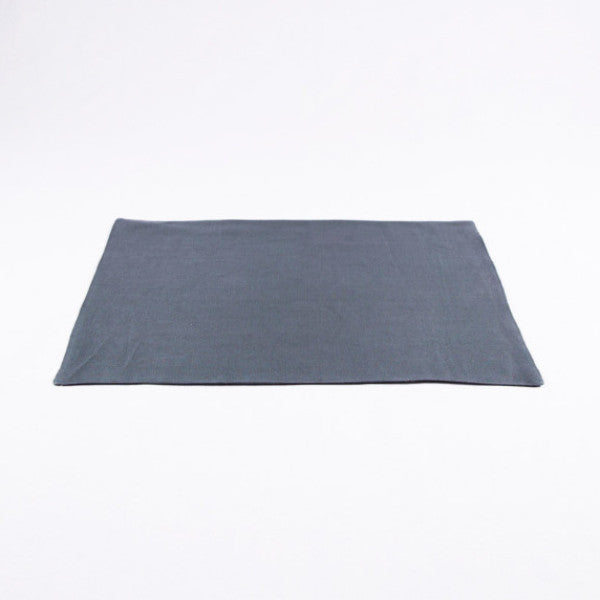 The Gourmet French Linen Placemat, Tile Gray