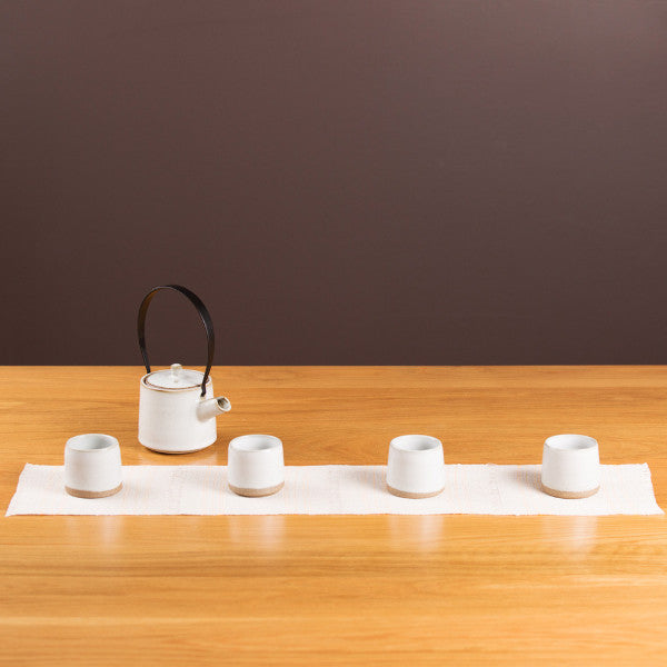 Tea Set, Creamy White I