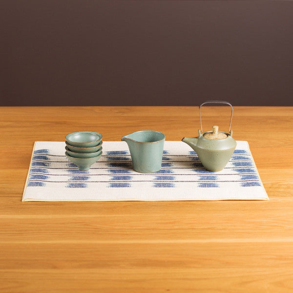 Tea Set, Blue Green