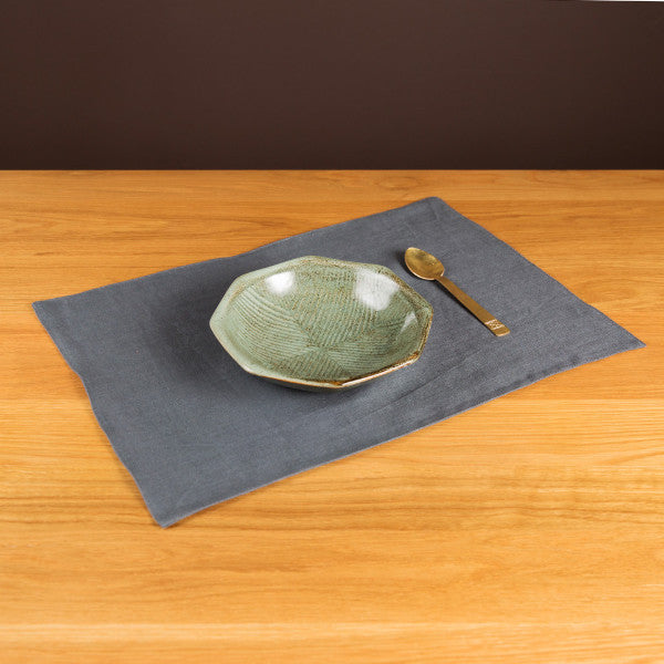 The Gourmet Placemats, Tile Gray, Set of 4