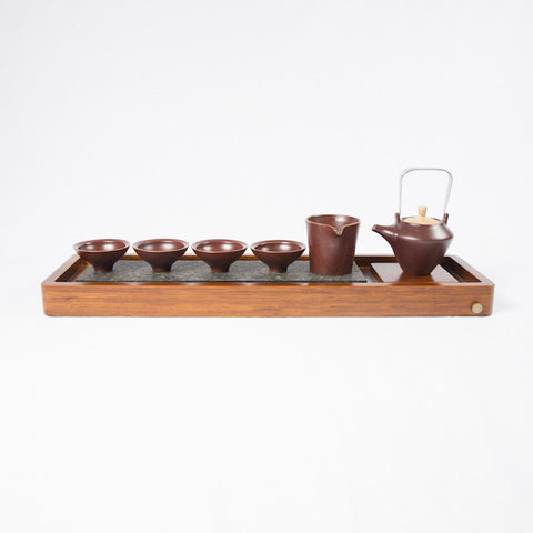 Tea Set, Red Wheat