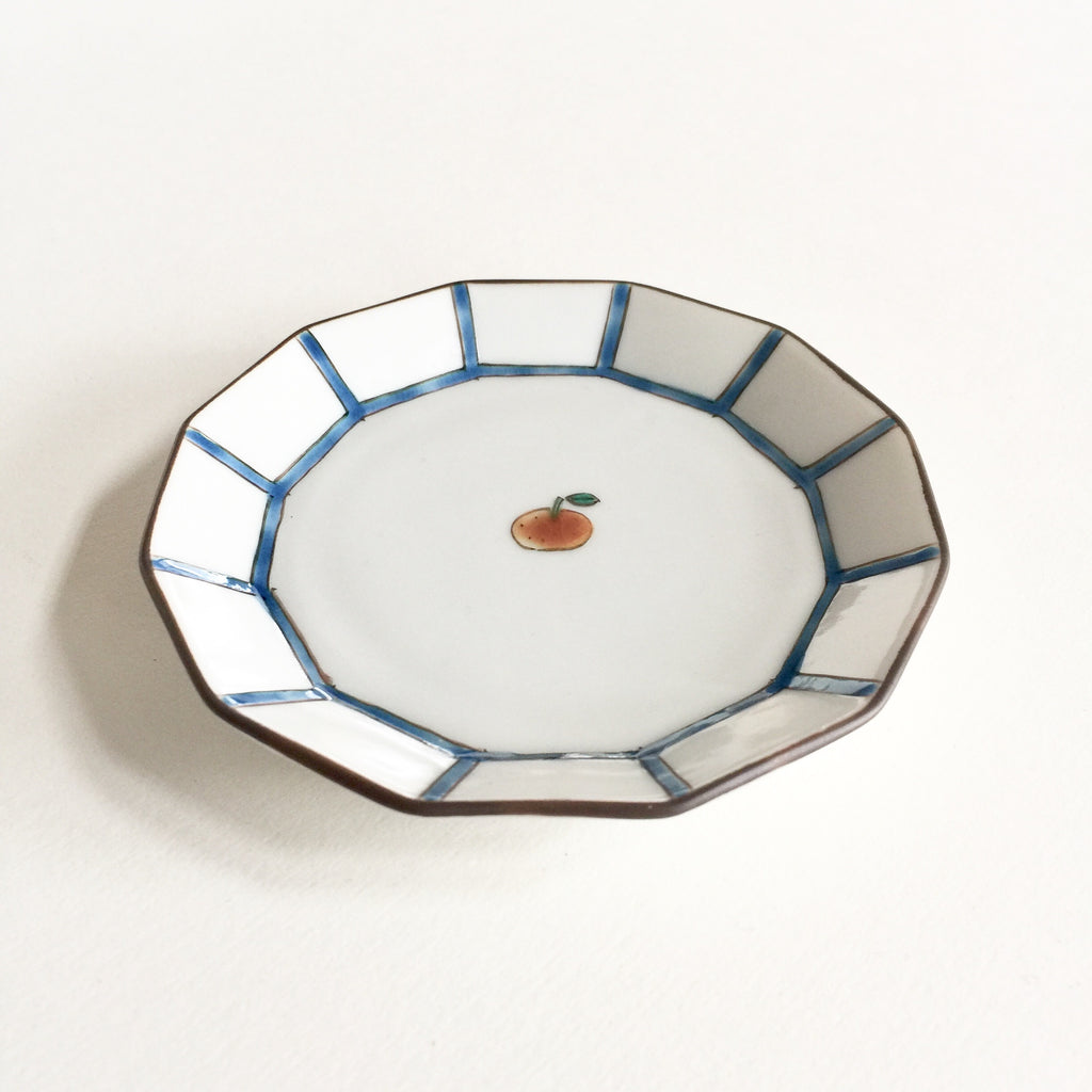 Japanese Kutani Fruit Plate