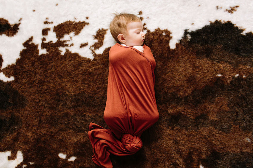Copper | SWADDLE - Dwell and Slumber house dress gold snaps