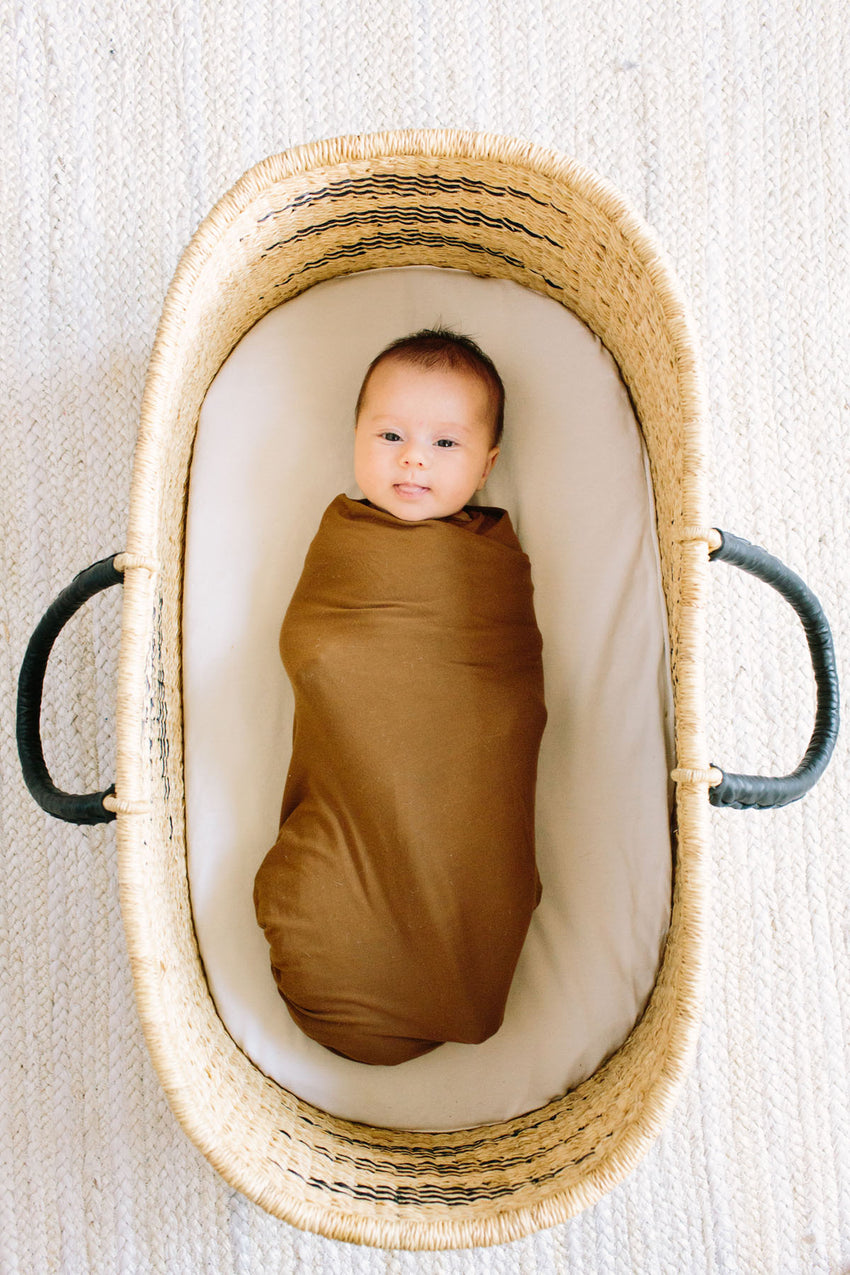 Stone | SWADDLE - Dwell and Slumber house dress gold snaps
