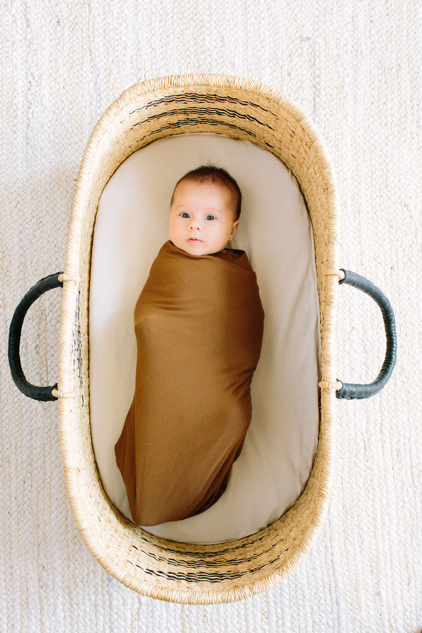 Fig | SWADDLE - Dwell and Slumber house dress gold snaps