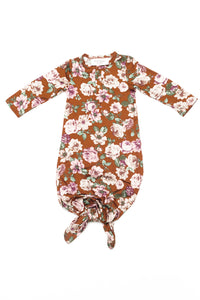 Clementine | BABY - Dwell and Slumber house dress gold snaps