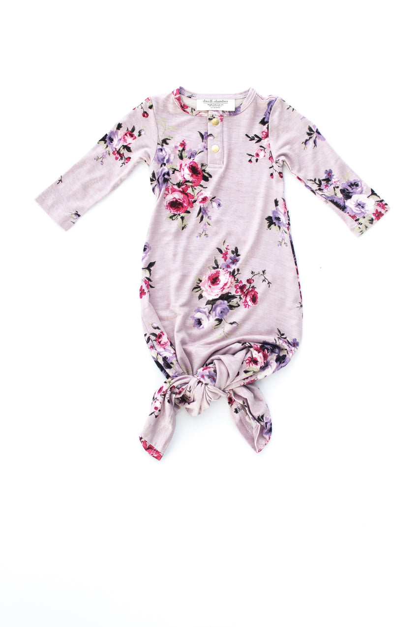 Edie | BABY - Dwell and Slumber house dress gold snaps