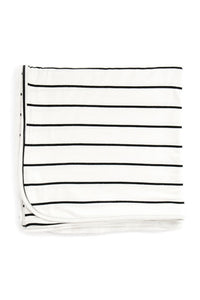 Breton Stripe | BLANKET - Dwell and Slumber house dress gold snaps