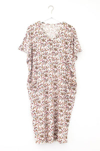 Opal | COCOON - Dwell and Slumber house dress gold snaps
