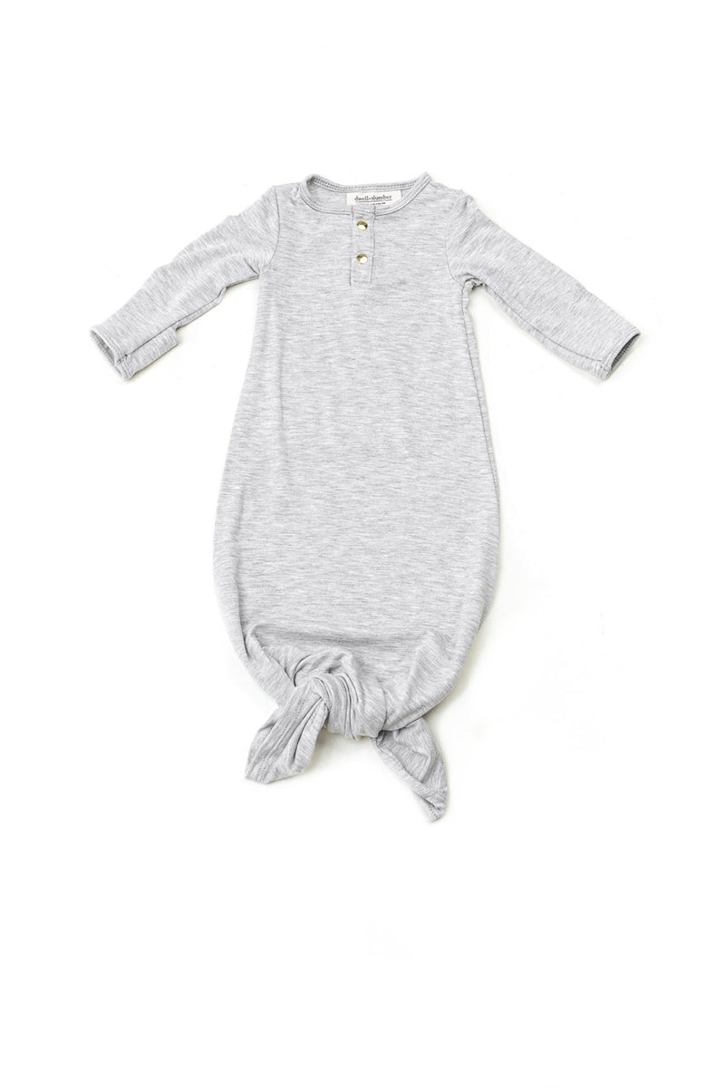 Marble | BABY - Dwell and Slumber house dress gold snaps